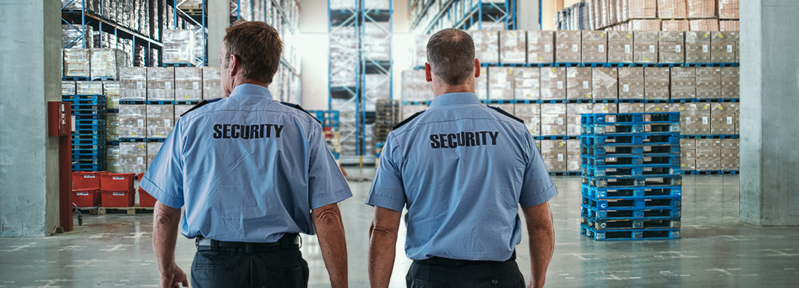 Commercial security guards