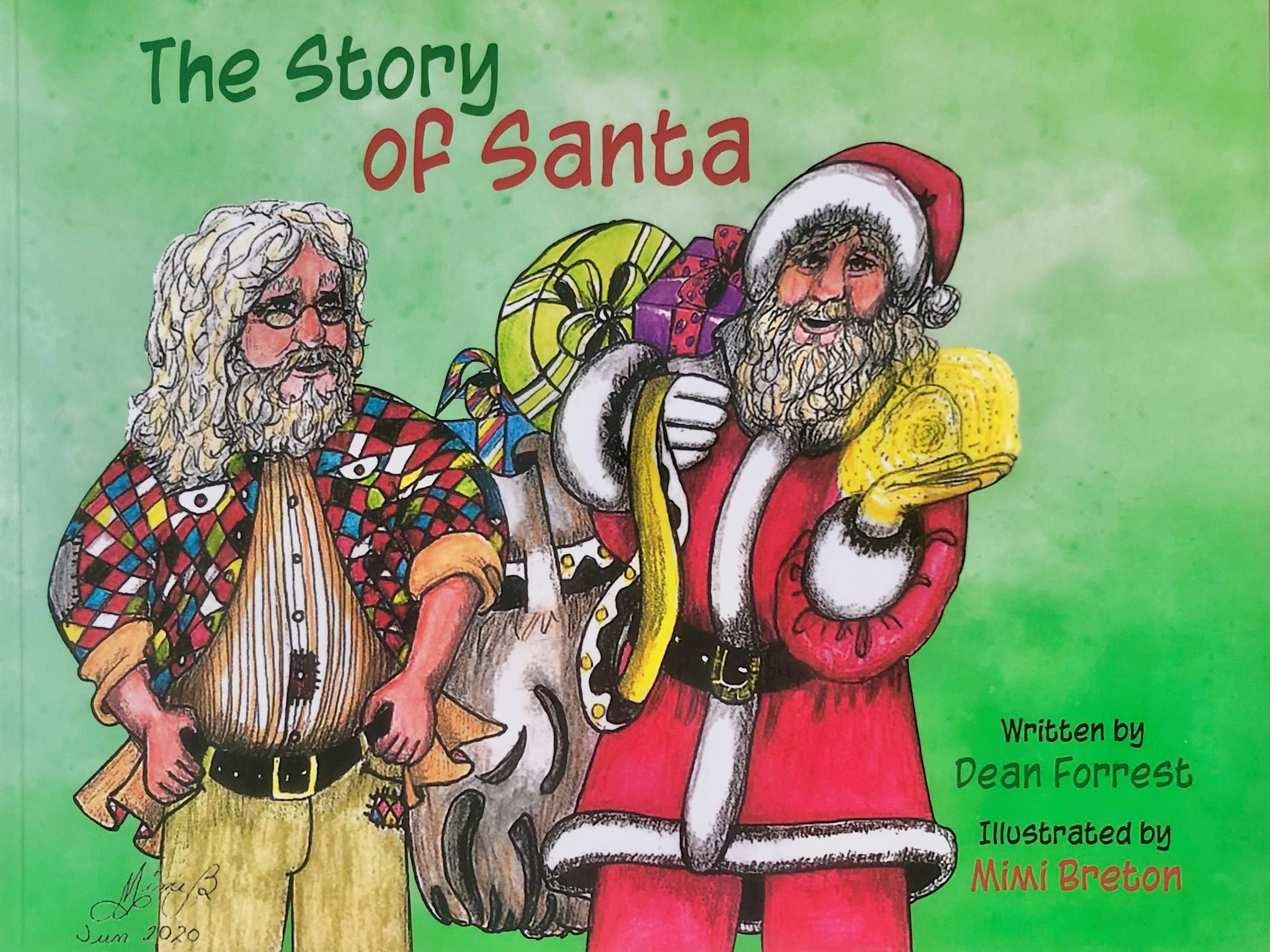 The Story of Santa Cover Image